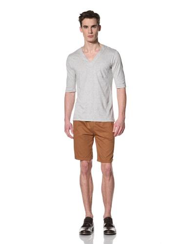 Camo Men's Cerreto C.lo V-Neck T Shirt (Gray)