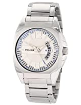 Police Analog Silver Dial Men's Watch - PL12897JS/04M