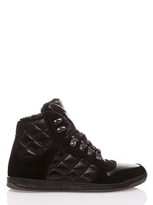 Gioseppo Zapatillas Cordones (Negro)