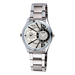 Exotica Fashions Dual Dial Wrist Watch For Men