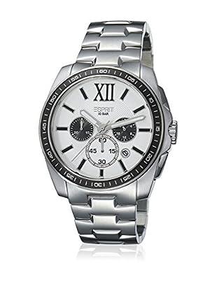 Esprit Reloj de cuarzo Man Meridian Chrono Silver White 44 mm