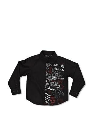 Desigual Camisa Marc (Negro)