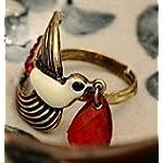 Ariela Cute Bird Ring