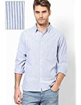 Pitch Oxford Casual Shirts
