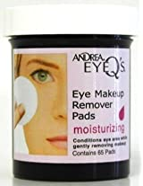 Andrea Eye Q's 65's Regular Eye Makeup Remover Pads (Case of 6)