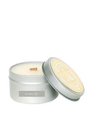 Cali Cosmetics 6-Oz. Amaretto Travel Tin Candle