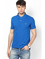 Aqua Blue Polo T-Shirt