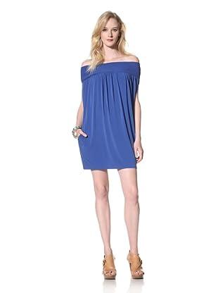 Susana Monaco Women's Off-Shoulder Dress (Sapphire)