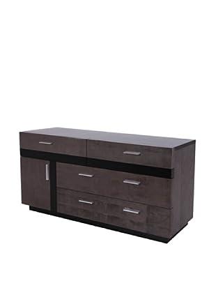 Urban Spaces Stonehenge Double Dresser, Gray