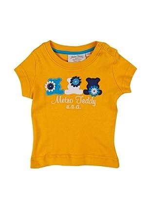 Metrokids Camiseta Niña Chifeng (Naranja)