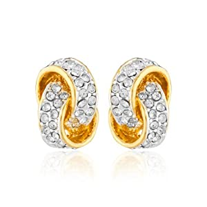 Estelle Pretty Lace Style Gold Earring