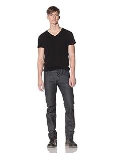 Projek Raw Men's Tuxedo Stripe Jean (Blue/Black)