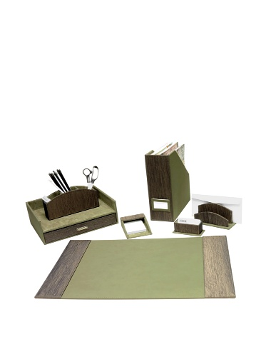 Homessence Kenwood Desktop Set, Green