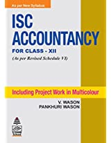 ISC Accountancy for Class XII