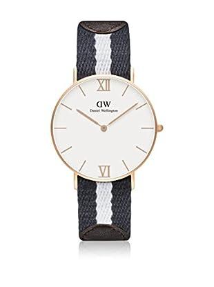 Daniel Wellington Reloj con movimiento cuarzo japonés Woman Grace Glasgow navy/white/brown 36 mm