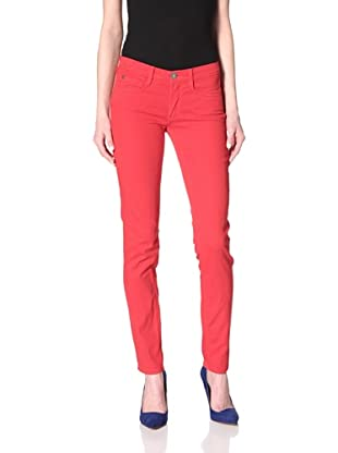Domino Women's Jane Skinny Jean (Red)