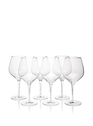 Stölzle Set of 6 Exquisit Large Burgundy Glasses, 23.5-Ounce