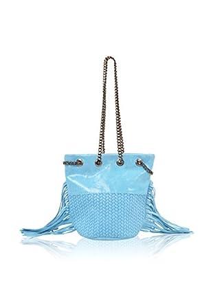 Carla Belotti Bolso saco Handbag Lauren Turquoise