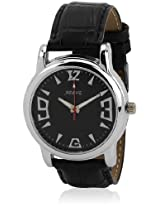 ADINE Black Dial Analogue Watch For Men-AD-1102Black