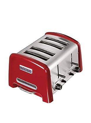 KitchenAid 4-Scheiben Toaster KTT890EER empire rot
