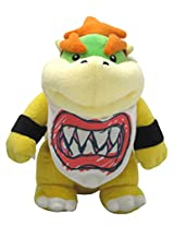 "Sanei Super Mario All Star Collection 8"" Bowser Jr. Plush, Small"