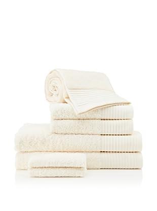 Beltrami Endrigo 7-Piece Bath Towel Set, Ivory