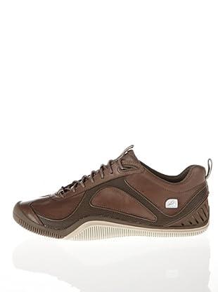 Clarks Leder Sneaker Outdrive Tide (Oliv)