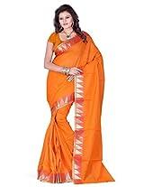 Araham Cotton Blend Saree with Blouse