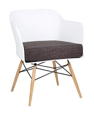 Lo+Demoda Stuhl Bantra Wood weiß