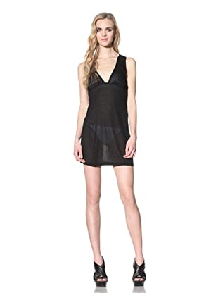 Just Cavalli Women's V-Neck Beach Dress (Black)