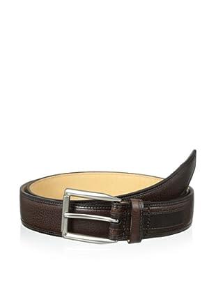 Trafalgar Men's Two-Tone Belt (Brown)