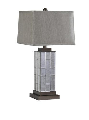Serena Table Lamp, Grey