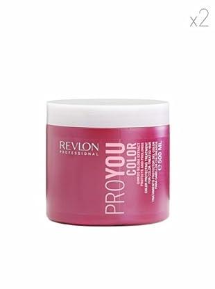 Revlon  Set 2 Pro You Tratamientos Color Ginkgo Biloba 500  ml