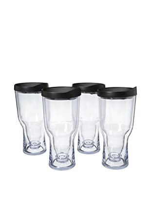 AdNArt Set of 4 Brew to Go (Black)