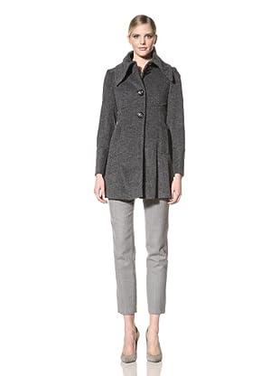 Ivanka Trump Women's Herringbone Jacket (Black/Grey)