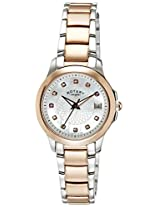 Rotary Analog White Dial Women's Watch-LB0283741