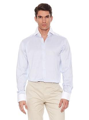 Hackett Camisa Estampada (Azul / Blanco)