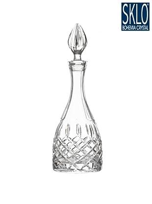 Cristal de Bohemia Botella Vino Con Decantador Vanesa Verde