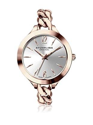STÜHRLING Uhr mit schweizer Quarzuhrwerk Woman 624M.03 rosé