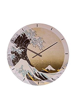 Artopweb Reloj De Pared Hokusai The Great Wave Of Kanagawa