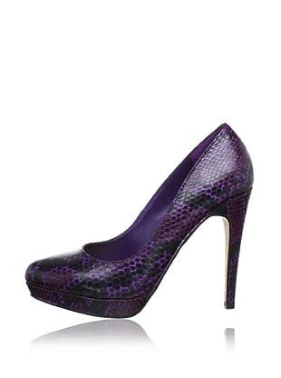 Buffalo London 22648CH-973 SNAKE 134987 - Zapatos de tacón  mujer (Morado)