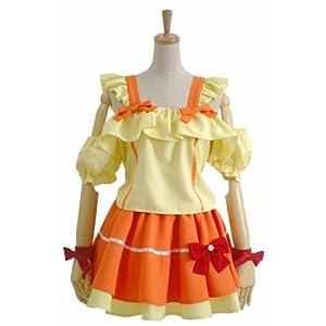 【クリックでお店のこの商品のページへ】コスプレ 衣装 マクロスFrontier ランカ ステージ衣装/ サイズ-S