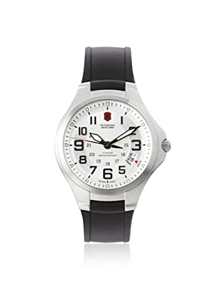 Victorinox Swiss Army Men's 241332 Base Camp Silver Dial Rubber Watch