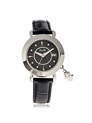 Bertha Women's BTHBR5602 Hannah Black Leather Watch