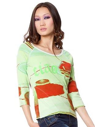 Custo Camiseta Loock (Multicolor)