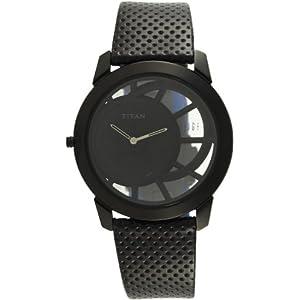 Titan Edge Analog Black Dial Men's Watch - ND1576NL01A
