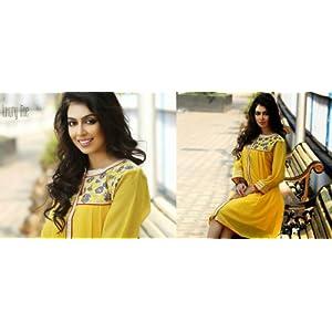 Designer Top Girls Tunic Bollywood Kurtis Party Wear Fancy Top Woman Clothing 211