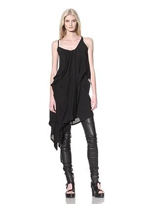 Ann Demeulemeester Women's Draped Dress (Black)
