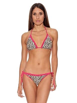 Intimax Bikini Animal (Leopardo / Rosa)