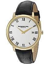 Raymond Weil Men's 5588-PC-00300 Analog Display Quartz Black Watch